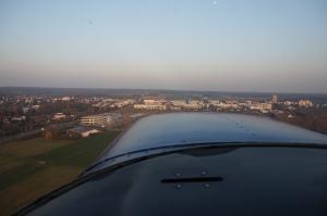 Nase in die Luft und Blick nach vorne, da kommt Egelsbach...