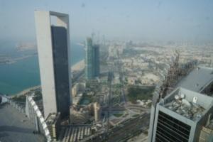 Abu Dhabi Fernsicht 2