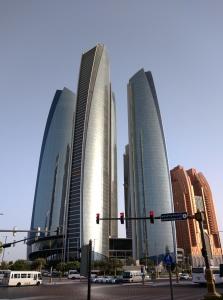 ...und da war unser Hotel... Etihad Towers...