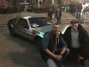 DeLorean, zwei Nerds am Werk!