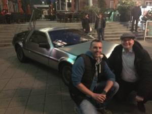 DeLorean, zwei Nerds am Werk!