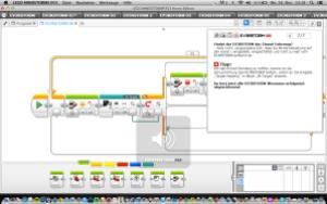 Screenshot PC-Anwendung, Programmierung
