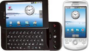 Erstes Android-Handy von HTC, Quelle: heise.de