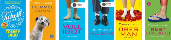 Alle lesenswert: Tommy Jaud // Quelle: Amazon