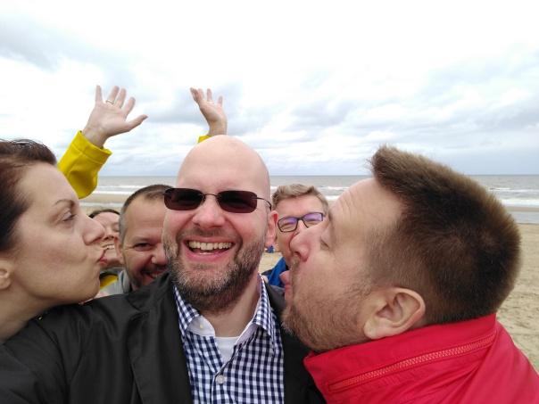 Twitterschnitzel-Selfie, diesmal: am der Nordsee...