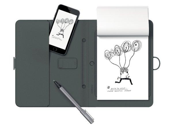 Wacom Spark: Digitaler Notizblock (für fast jedes Papier) / Quelle: amazon.de