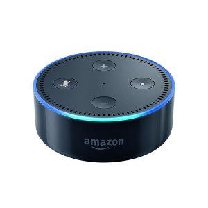 Gestatten? Alexa, verpackt im amazon Dot. // Quelle: amazon.de