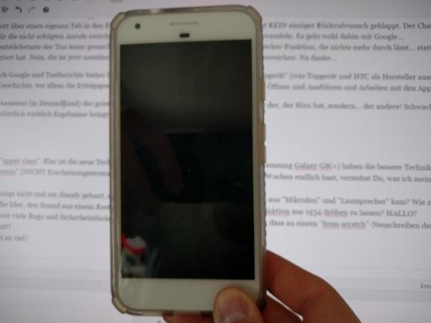 Schau an, ein PIXEL XL... oder ein iphone... oder 1.009€ für ein mittelmäßiges Gerät ohne sofortige Verfügbarkeit?