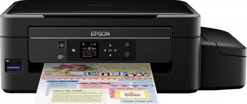Epson EcoTank ET-2550: Schrottiges Druckwerk, falsche Werte, kompletter Mist! (Bildquelle: Epson.de)