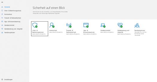 Windows Defender, Windows 10-1803: mehr Schutz muss man nicht haben!