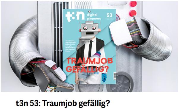 t3n - Magazin-Teaser auf t3.de - Quelle: t3n.de