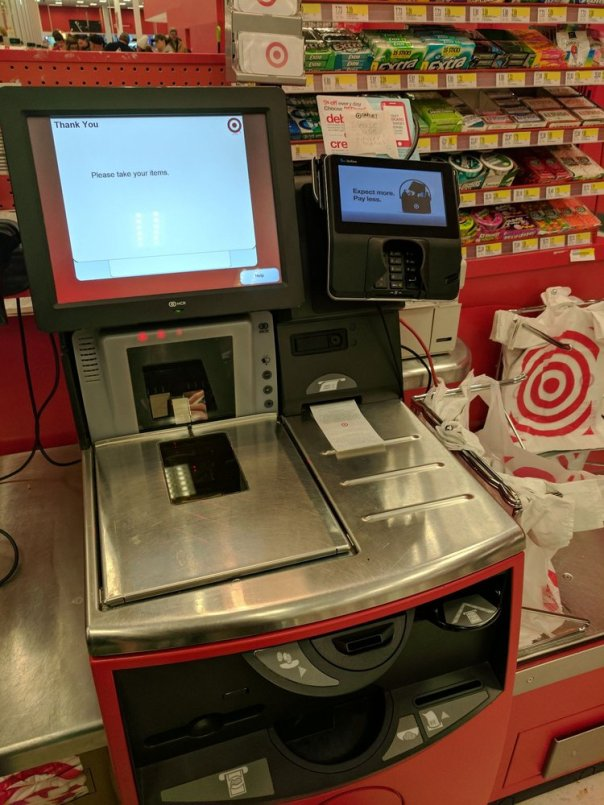 Klar, in den USA kann ich ALLES mit Karte zahlen - aber...//Quelle: yelp.com