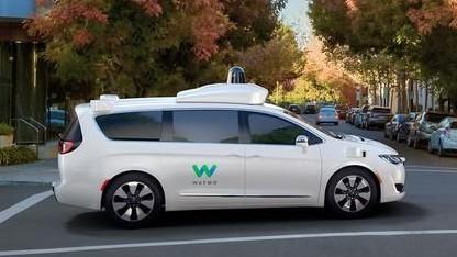 So sehen die von Waymo jetzt ohne Sicherheitsfahrer auf die Straße geschickten Fahrzeuge aus: ERSTER! / Quelle: golem.de