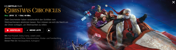 Banner The Christmas Chronicles - Quelle: netflix.de