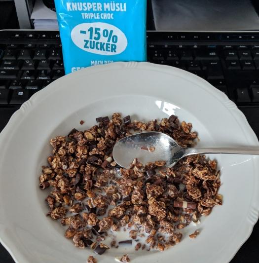 Test #2: nun mit 15% weniger Zucker