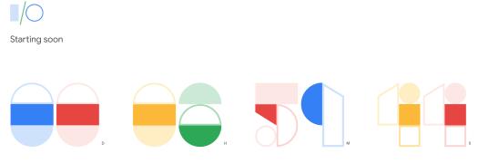 Google i/o - Livestream (oder vor Ort?) AHOI! / Bild-Quelle: Google