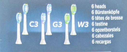 Warum kompliziert, wenn es auch einfach geht? Endlich verständliche Bezeichnungen! / Bild-Quelle: Philips Produktverpackung