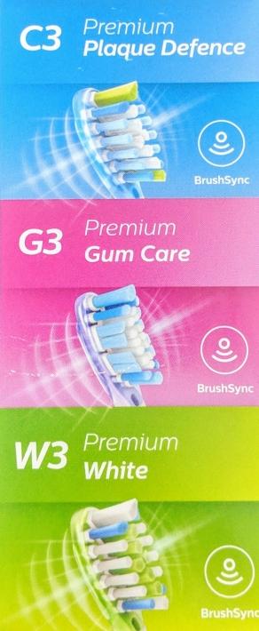 Könnte kundenfreundlich werden: drei Kategorien, einfache Nummerierung / Bild-Quelle: Produktverpackung Philips