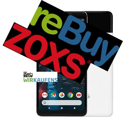 Ein Handy, drei exemplarische Anbieter, drei verschiedene Preise - zu viel Aufwand für das bisschen Geld? / Bild-Quelle: Google, Rebuy, zoxs, wirkaufens