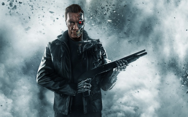 Arnold Schwarzenegger als Terminator in Genisys / Bild-Quelle: Paramount Pictures + Skydance Productions