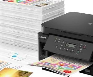 Canon G6050 - das größte Modell der Tintenbehälter-Drucker / Bild-Quelle: canon.de