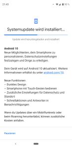 Android10 (vormals Q) ist angekommen! Bild-Quelle: Google/Android