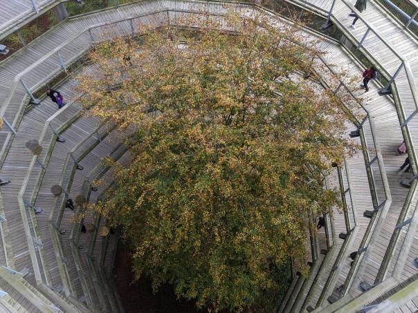 Der Blick von oben - ein bisschen geht noch! Schreit nach einem erneuten Besuch! / Bild-Quelle: Steve Schutzbier