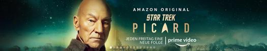 Star Trek mit Jean-Luc Picard, es geht weiter! / Bild-Quelle: amazon.de