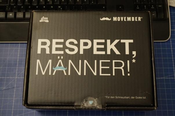 dm #MOVEMBER-Box - das ist drin! / Bild-Quelle: privat