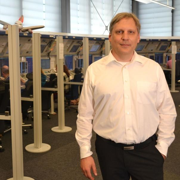 Gerrit Niemann, Verfahrensplaner / Bild-Quelle: DFS Deutsche Flugsicherung