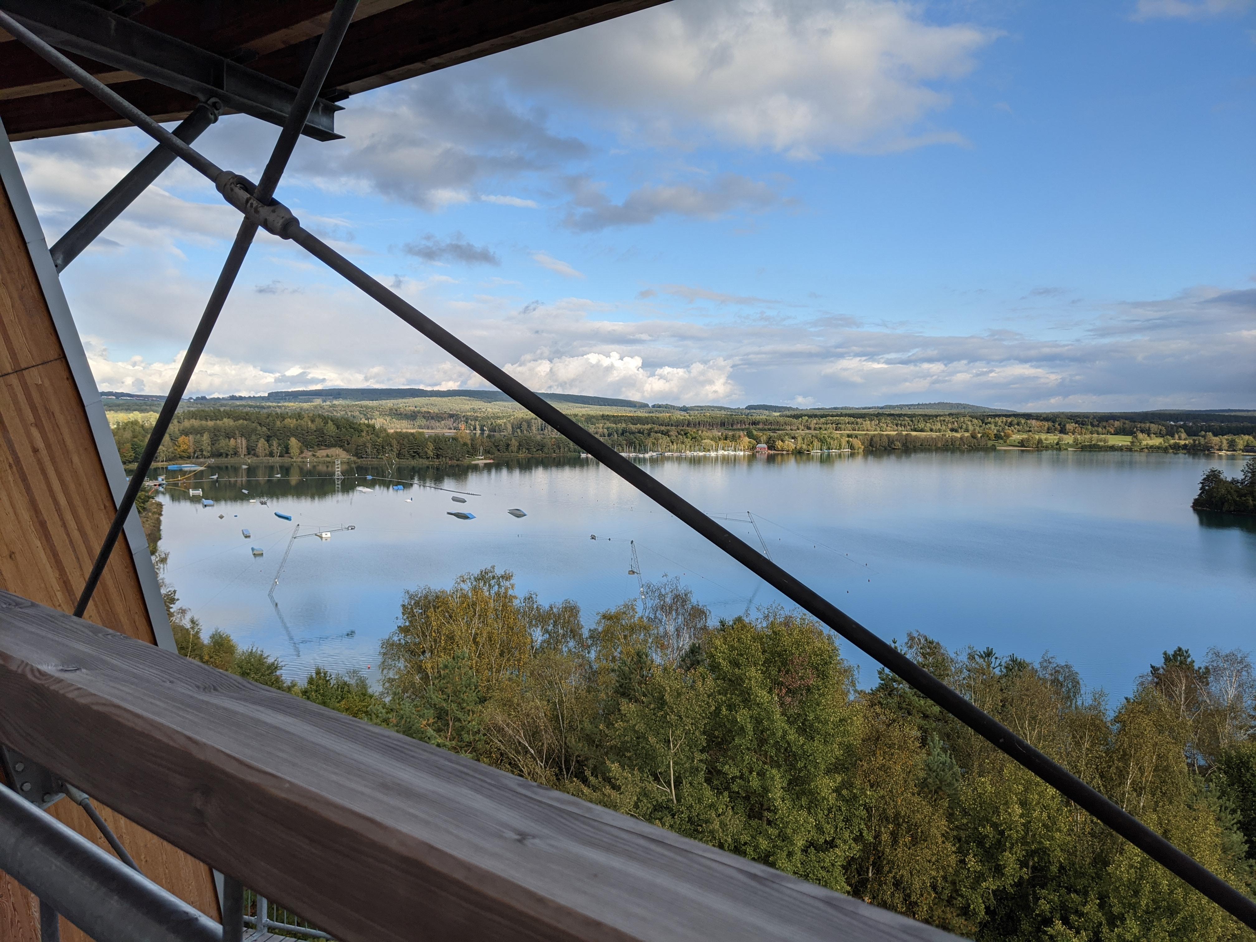 Blick auf den Steinberger See, Naherholung und Sport / Bild-Quelle: privat