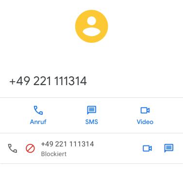Diese Nummer solltet ihr blockieren - kostet Zeit, und wenn es dumm läuft, viel Lehrgeld! / Bild-Quelle: privat