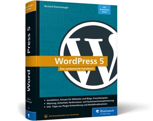 WordPress 5, das umfassende Handbuch / Bild-Quelle: Rheinwerk Verlag